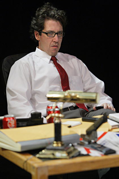 Paul DeCordova plays an aspiring GOP politician. Photo: Michal Danial